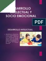 Desarrollo Intelectual y Socio Emocional