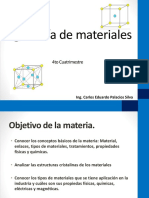Ingenieria de Materiales - Introduccion