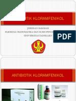 Antibiotik Kloramfenikol Ppt Kelompok 5 Kelas b