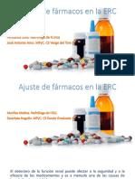 Ajuste de Farmacos en La ERC Taller 20-3-15