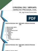 1. Derecho Procesal Civil y Mercantil