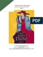 La Visita de La Vieja Dama - Friedrich Durrenmatt