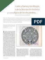 Antonio de León y Gama y los dibujos  extraviados de la Descripción histórica y cronológica de las dos piedras