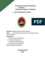 Ensamble Gran Canonico y Las Conexiones Termodinamicas