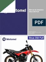 Manual Despiece Skua 250