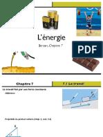 Chapitre7 Travail Energie