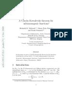 Spinrad. Graph Theory (Book Draft)