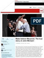 Make Believe Maverick. the True Story of John McCain! - CNN IReport