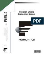 Foundation Fieldbus - Function blocks instruction manual.pdf