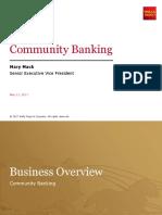 Community Banking Presentation