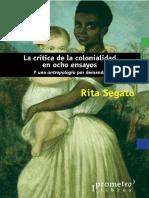 La crítica de la colonialidad