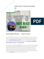 Does Body Beast Work