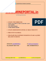 Description of Indian Coalfield