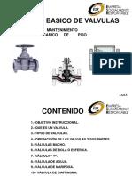 BASICO DE VALVULAS MECANICAS