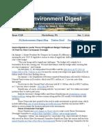 Pa Environment Digest Jan. 7, 2019