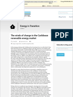 The Winds of Change in the Caribbean Renewable Energy Market - DNV GL Blog - Energy in Transition