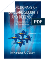 The Dictionary of Homeland Security and Defense-o'Leary-2006