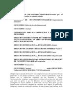 Objeciones colombia jucios