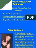 Gesrtorragia de La 1ra Mitad Del Embarazo Rita