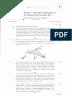 Dynamics of Machinery Dec 2017