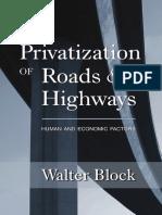 construir carreteras sin el estado