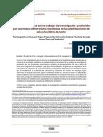 La lingüística textual en los trabajos de investigación producidos por alumnado universitario
