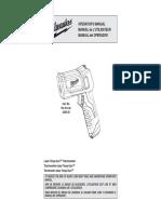 Pistola Laser de Temperatura Milwaukee 2265-20