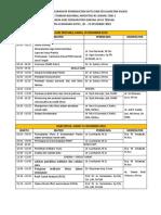 Jadwal Acara Workshop Peningkatan Mutu Dan Keselamatan Pasien