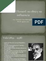 Clase 1 2011-II Husserl