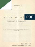 Bratescu Delta Dunarei Geneza Si Evolutia