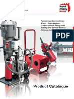 2016 Catalogue of fire extinguisher filling machine