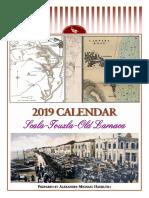 2019 calendar - Scala-Touzla-Old Larnaca (English)
