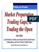 Dan Gibby - Market Preparation Trading Gaps and Trading the Open (137 Pag)