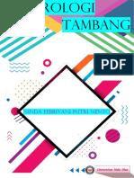 HIDROLOGI TAMBANG