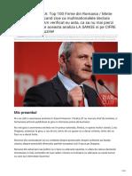 Ziardecluj.ro-aNCHETA-BOMBA Top 100 Firme Din Romania Minte Dragnea Sau NU Cand Zice CA Multinationalele Declara p