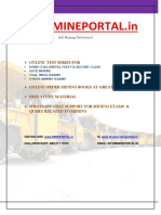 Metal Mining Stoping Methods