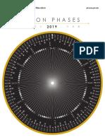 Mooncalendar Worksheet 2019