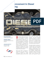 Cetane Improvement in Diesel Hydrotreating