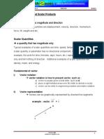 BA 501 Chapter 3 Vector Dan Scalar