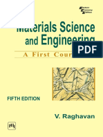 Materials Science and Engineering [V. Raghavan]