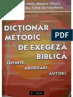 Dicționar Metodic de Exegeză Biblică - Jean Noël Aletti