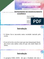 Apresentação Do Artigo Em Alfenas - Naiara e Rodrigo