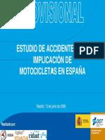 DGT_estudio Sobre Infraestructuras y Accidentes de Moto_ESP_2008
