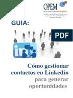 Guía - Cómo gestionar contactos en Linkedin para generar oportunidades.pdf