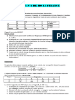 Devoir 1 de Ro l3 Finance 2017 - 2018
