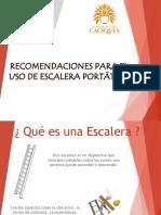 Recomendaciones para el uso de escaleras portátiles.pptx