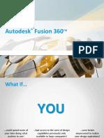 Autodesk Fusion 360 Brochure