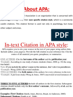 Citation in Apa