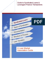 LMA Guide to Syndicated Loans