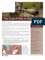 Cost of War Afghanistan